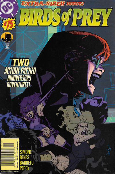 Cover for Birds of Prey (DC, 1999 series) #75 [Direct Sales]