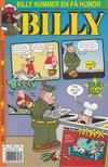 Cover for Billy (Hjemmet / Egmont, 1998 series) #2/1998