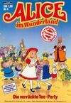 Cover for Alice im Wunderland (Bastei Verlag, 1984 series) #4