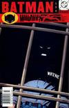 Cover for Batman (DC, 1940 series) #599 [Newsstand]