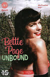 Cover for Bettie Page Unbound (Dynamite Entertainment, 2019 series) #5 [Virgin Photo Cover]