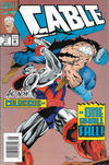 Cover for Cable (Marvel, 1993 series) #11 [Newsstand]