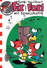 Cover Thumbnail for Fix und Foxi mit Schallplatte (Pabel Verlag, 1960 series) #18