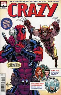 Cover Thumbnail for Crazy (Marvel, 2019 series) #1 [Todd Nauck & Rachelle Rosenberg]