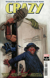 Cover Thumbnail for Crazy (Marvel, 2019 series) #1 [E. M. Gist]