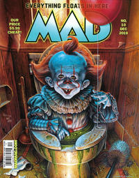 Cover Thumbnail for Mad (EC, 2018 series) #10