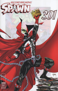 Cover Thumbnail for Spawn (Image, 1992 series) #301 [Cover A]