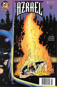 Cover Thumbnail for Azrael (DC, 1995 series) #2 [Newsstand]