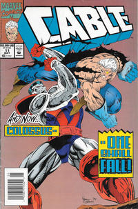 Cover Thumbnail for Cable (Marvel, 1993 series) #11 [Newsstand]