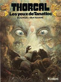 Cover Thumbnail for Thorgal (Le Lombard, 1980 series) #11 - Les yeux de Tanatloc