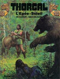 Cover Thumbnail for Thorgal (Le Lombard, 1980 series) #18 - L'Épée-soleil