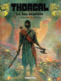Cover Thumbnail for Thorgal (Le Lombard, 1980 series) #35 - Le feu écarlate