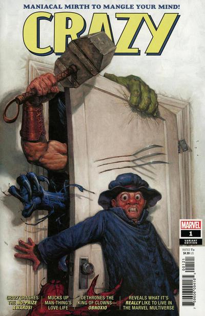 Cover for Crazy (Marvel, 2019 series) #1 [John McCrea & Michael Spicer]