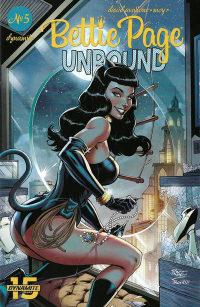 Cover for Bettie Page Unbound (Dynamite Entertainment, 2019 series) #5 [Cover B Scott Chantler]