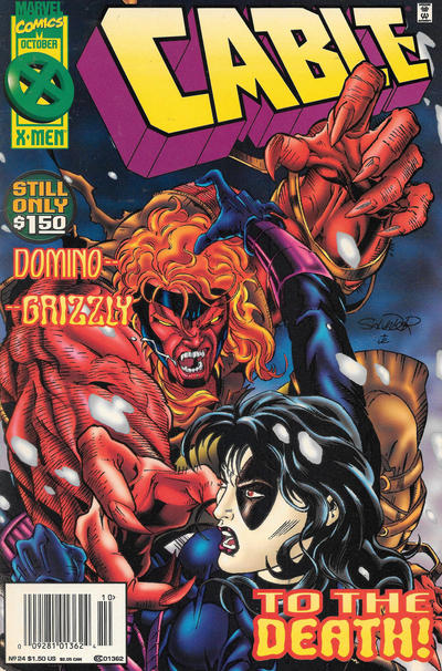 Cover for Cable (Marvel, 1993 series) #24 [Direct Edition]
