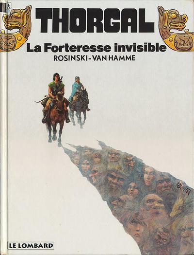 Cover for Thorgal (Le Lombard, 1980 series) #19 - La forteresse invisible