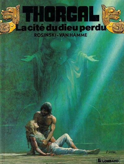 Cover for Thorgal (Le Lombard, 1980 series) #12 - La cité du dieu perdu