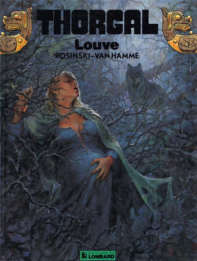 Cover for Thorgal (Le Lombard, 1980 series) #16 - Louve