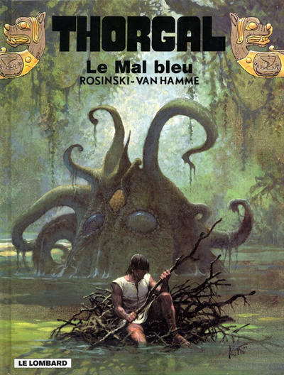 Cover for Thorgal (Le Lombard, 1980 series) #25 - Le mal bleu