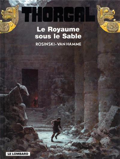 Cover for Thorgal (Le Lombard, 1980 series) #26 - Le Royaume sous le Sable
