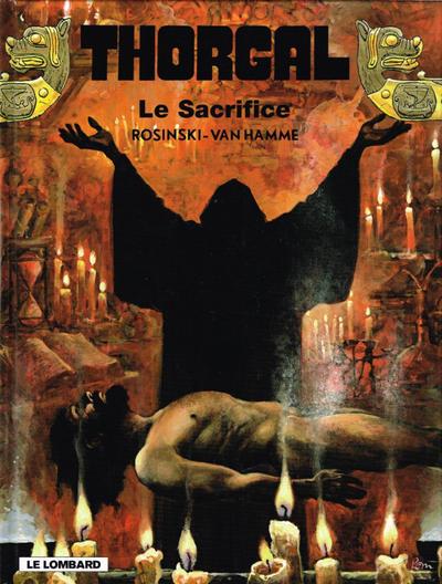 Cover for Thorgal (Le Lombard, 1980 series) #29 - Le Sacrifice