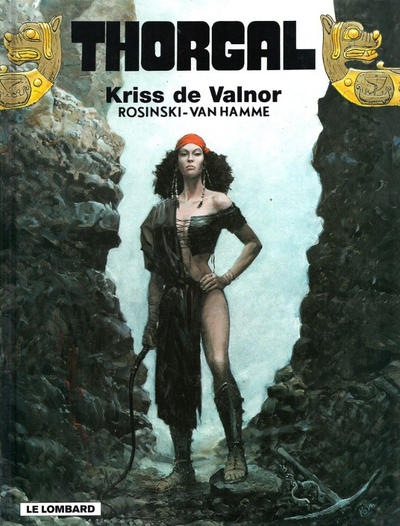 Cover for Thorgal (Le Lombard, 1980 series) #28 - Kriss de Valnor