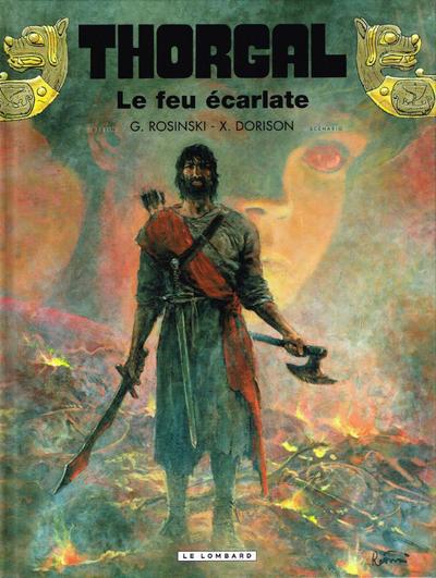 Cover for Thorgal (Le Lombard, 1980 series) #35 - Le feu écarlate
