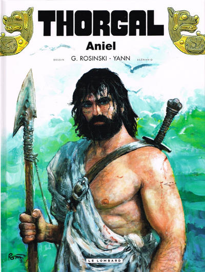 Cover for Thorgal (Le Lombard, 1980 series) #36 - Aniel