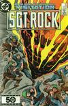 Cover for Sgt. Rock (DC, 1977 series) #401 [Direct Sales]