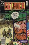 Cover Thumbnail for Sgt. Rock (1977 series) #402 [Newsstand]