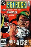 Cover Thumbnail for Sgt. Rock (1977 series) #404 [Direct]