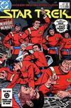 Cover for Star Trek (DC, 1984 series) #10 [Direct]