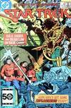 Cover for Star Trek (DC, 1984 series) #17 [Direct]