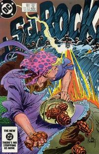 Cover Thumbnail for Sgt. Rock (DC, 1977 series) #393 [Direct]