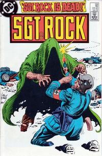 Cover Thumbnail for Sgt. Rock (DC, 1977 series) #399 [Direct]