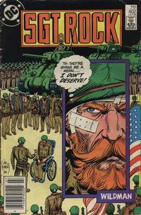 Cover Thumbnail for Sgt. Rock (DC, 1977 series) #402