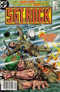 Cover Thumbnail for Sgt. Rock (DC, 1977 series) #409 [Newsstand]