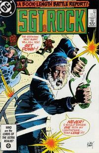 Cover Thumbnail for Sgt. Rock (DC, 1977 series) #410 [Direct]