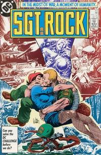 Cover Thumbnail for Sgt. Rock (DC, 1977 series) #412 [Direct]