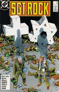 Cover Thumbnail for Sgt. Rock (DC, 1977 series) #413 [Direct]