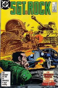 Cover Thumbnail for Sgt. Rock (DC, 1977 series) #415 [Direct]