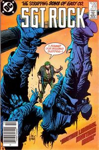 Cover Thumbnail for Sgt. Rock (DC, 1977 series) #418 [Canadian]