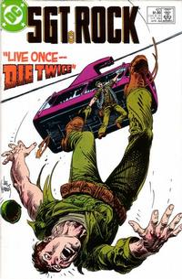Cover Thumbnail for Sgt. Rock (DC, 1977 series) #421 [Direct]