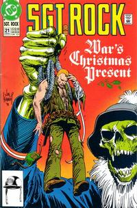 Cover Thumbnail for Sgt. Rock (DC, 1991 series) #21