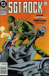 Cover Thumbnail for Sgt. Rock Special (DC, 1988 series) #10 [Newsstand]