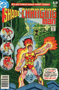 Cover Thumbnail for Shade, the Changing Man (DC, 1977 series) #1