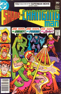 Cover Thumbnail for Shade, the Changing Man (DC, 1977 series) #2