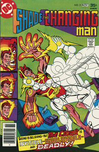 Cover Thumbnail for Shade, the Changing Man (DC, 1977 series) #3