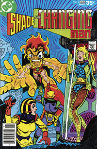 Cover Thumbnail for Shade, the Changing Man (DC, 1977 series) #4