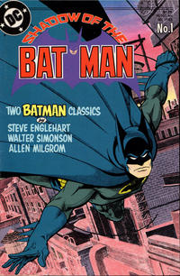 Cover Thumbnail for Shadow of the Batman (DC, 1985 series) #1